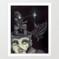 Ghost Light Art Print