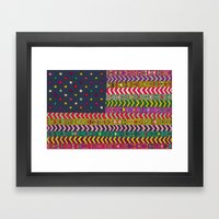 MY USA Framed Art Print