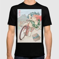 Ride Free! Mens Fitted Tee Black SMALL
