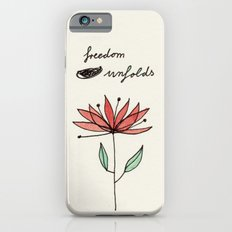 freedom unfolds iPhone 6 Slim Case