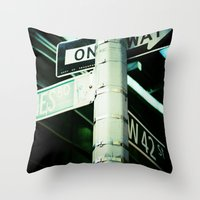 42nd Throw Pillow