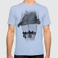 La femme_06 Mens Fitted Tee Athletic Blue SMALL