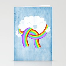 Mr clouds new scarf Stationery Cards