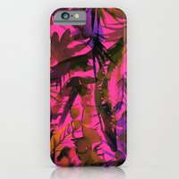 Vibe Of The Jungle {Red} iPhone 6 Slim Case