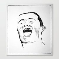 Laugh  Canvas Print