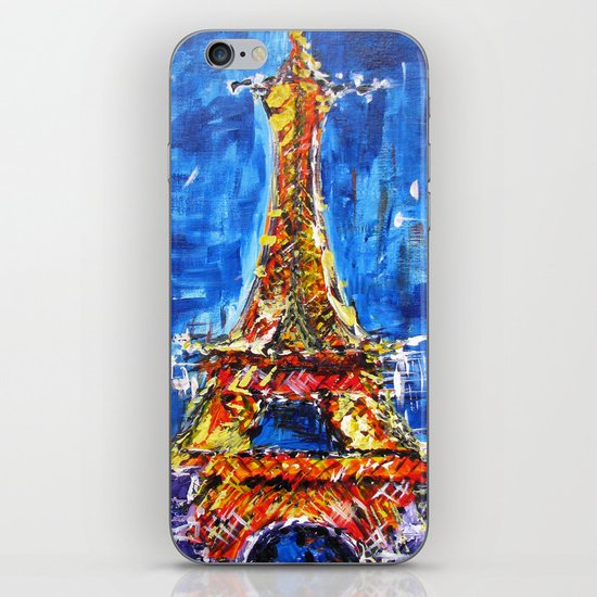 J'adore Eiffel iPhone & iPod Skin