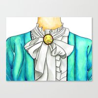 Canvas Print featuring Dressed Up by SmallIslandInTheSun