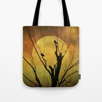 Red Sky at Night Tote Bag