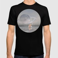 How did I get here, how can I go home. Mens Fitted Tee Black SMALL