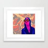 Art Dealer Framed Art Print
