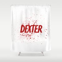 Dexter#01 Shower Curtain
