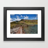 Levers Water Framed Art Print