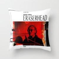 Eraserhead 1 Throw Pillow