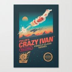 Crazy Ivan Canvas Print