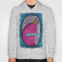 Narwhal Portrait Hoody