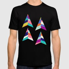 Upward SMALL Mens Fitted Tee Black