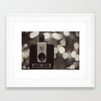Holiday Hawkeye Framed Art Print