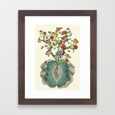 Anatomy Of A Female Orga… Framed Art Print