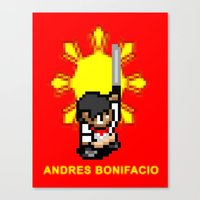 16-bit Andres Bonifacio Canvas Print