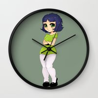 The Toughest Fighter  Wall Clock