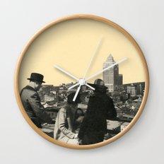 Views Across Vancouver Wall Clock