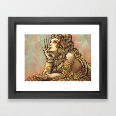 Zodiac Sign: Leo Framed Art Print