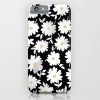 iPhone Cases featuring Daisies by leah reena goren