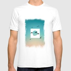 Nature Mens Fitted Tee White SMALL