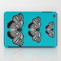Butterflies On Teal iPad Case
