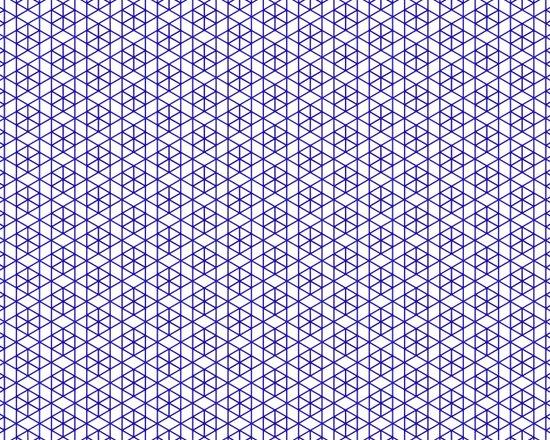 Karthuizer Blue & White Pattern Art Print