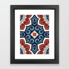 Mandala #7(v2) Framed Art Print
