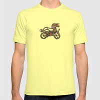 My Harley Mens Fitted Tee Lemon SMALL