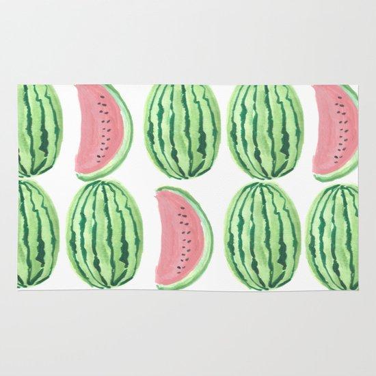 Watermelon Mania Area & Throw Rug