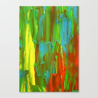 Abstract Painting 28 Canvas Print
