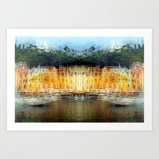 All About Italy. Piece 19 - Portofino Spirit Art Print