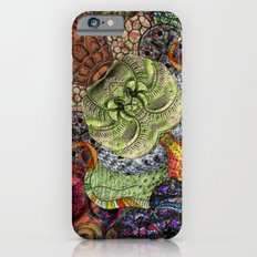 Psychedelic Botanical 10 iPhone 6s Slim Case