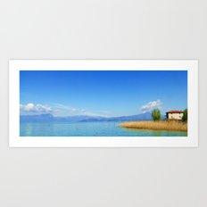 Lago Art Print