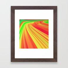 The Race Against Time Framed Art Print