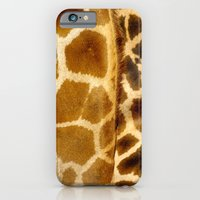 iPhone & iPod Case featuring Giraffe skin. by Grant Pearce