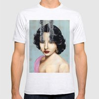 Elizabeth Taylor Mens Fitted Tee Ash Grey SMALL