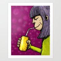 Lemonade 3/3 Art Print