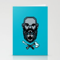 Wild BEARd Stationery Cards