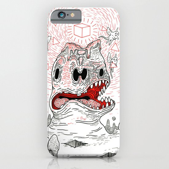 Triangles Are Tasty iPhone & iPod Case