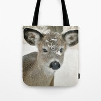 Snow Baby Tote Bag
