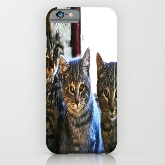 What Are You Looking At? x 3 iPhone & iPod Case