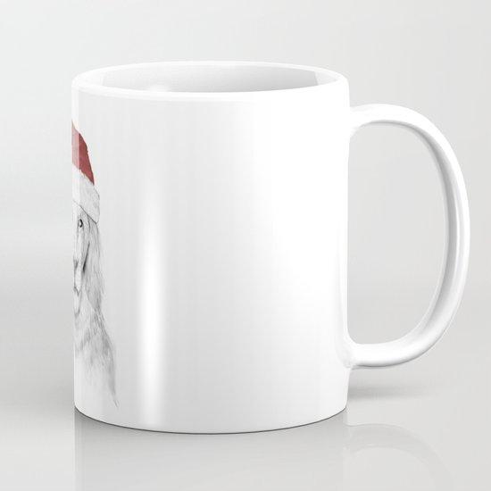 Santa lion Mug