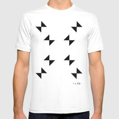 :::CRIME_WEATHER::: Mens Fitted Tee White SMALL