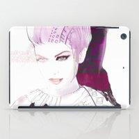 Ethno fashion illustration iPad Case
