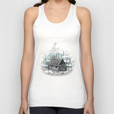 DEEP IN THE HEART OF THE FOREST Unisex Tank Top