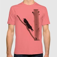 Two Crows Mens Fitted Tee Pomegranate SMALL